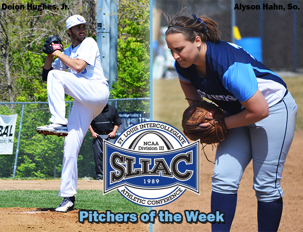 Westminster Pitchers Own SLIAC Pitchers of the Week