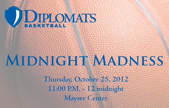Midnight Madness Set for Thursday Oct. 25th