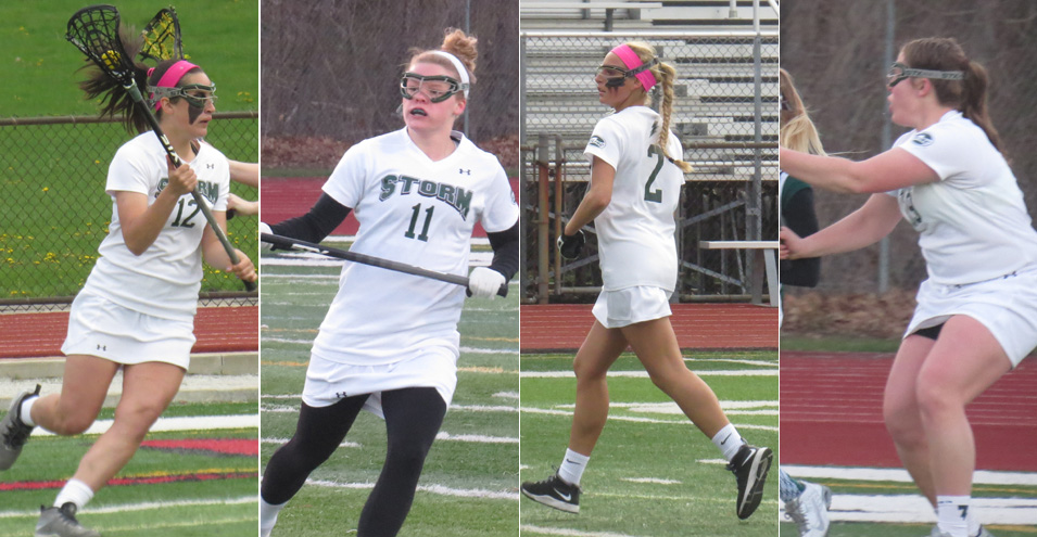 Women's Lacrosse Earns Four All-GLIAC Honors