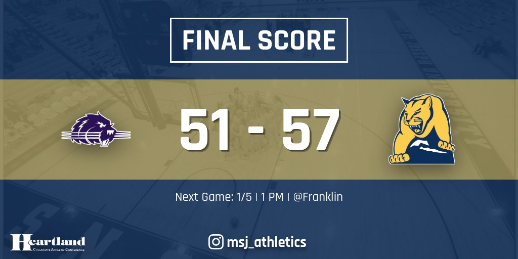 The Mount Women's Basketball defeats Bluffton in conference match-up