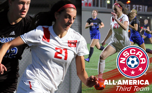 Travia Named Women's Soccer's First All-American