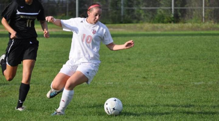 Women's Soccer Downs Suffolk, 3-1