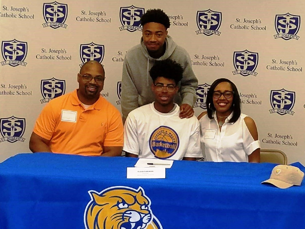 All-Region Point Guard Caleb Coleman Signs with JWU Basketball