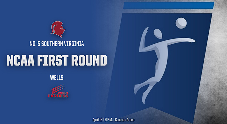 Moving On In The NCAA Tournament! Wells Wins In Three Sets
