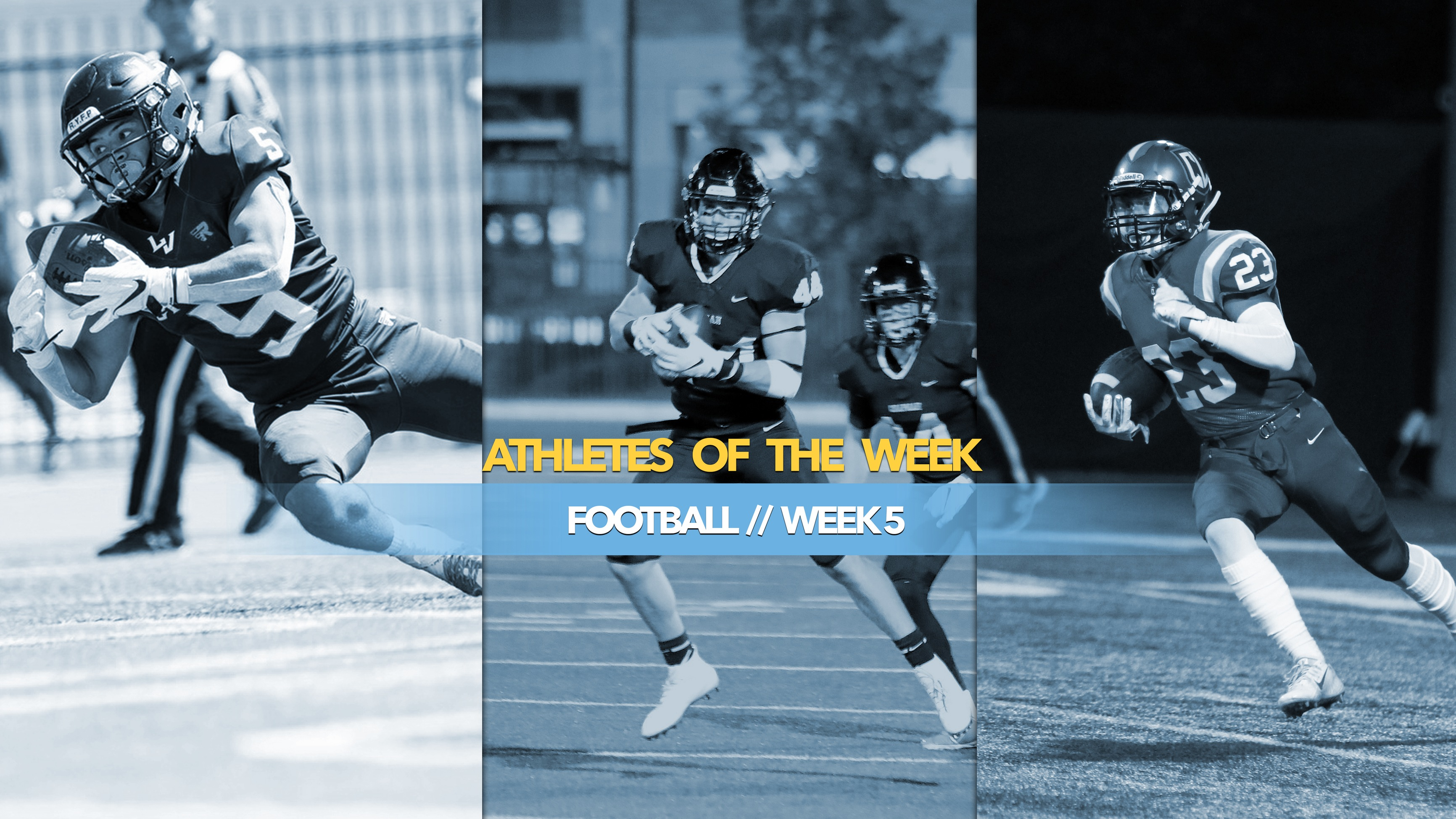 Football Athletes of the Week: October 7, 2019