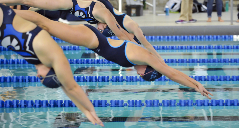 Swimming & Diving Finishes 3rd at Hamilton Invitational