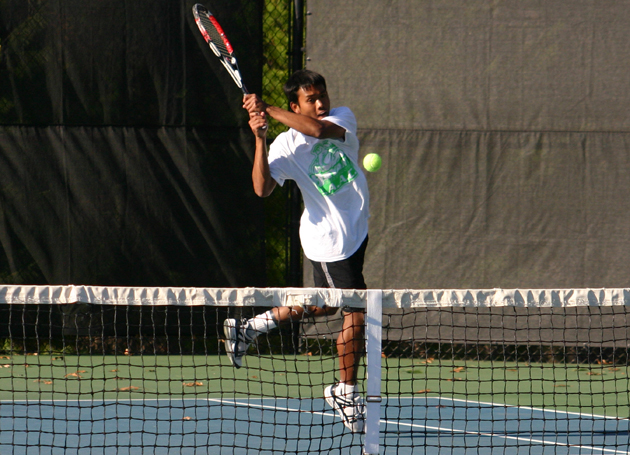 Men's tennis opens at Brown