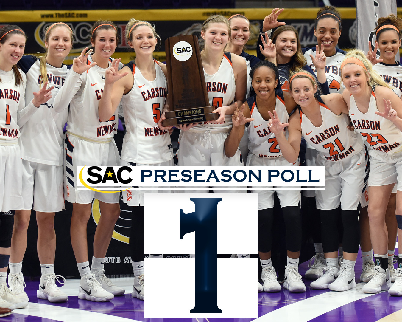 Lady Eagles picked to repeat as SAC Champions