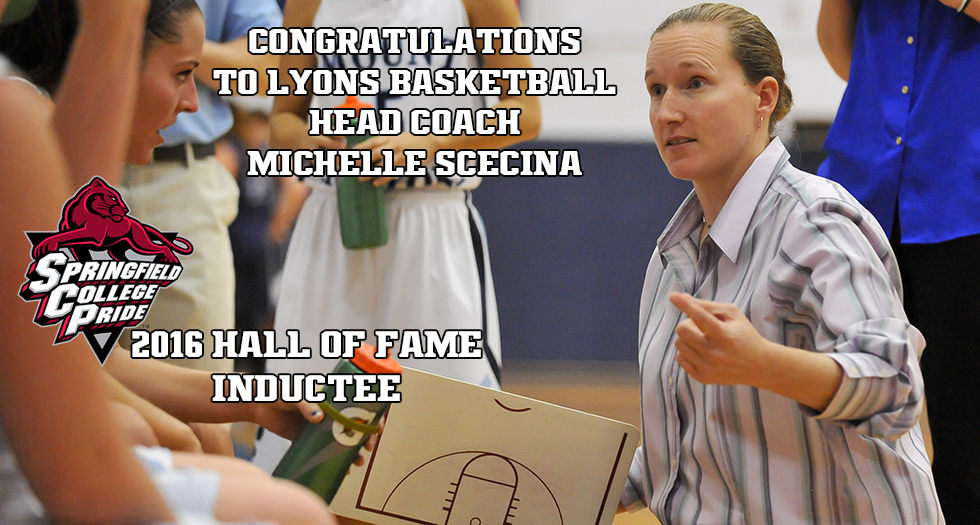 Scecina To Be Inducted Into Springfield College Athletics Hall of Fame