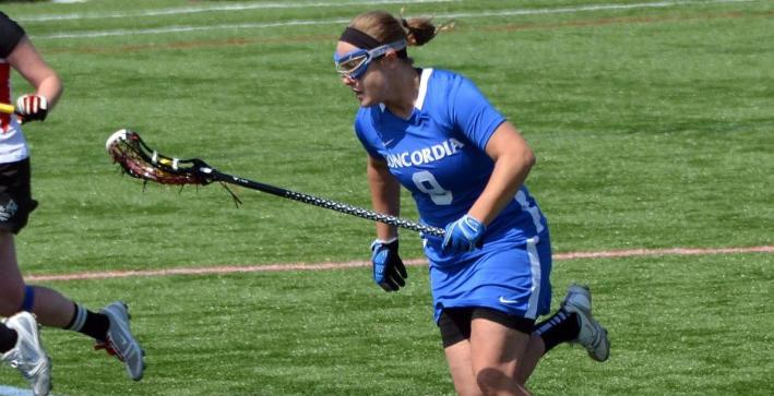 Women's Lacrosse drops Trine in regular season finale