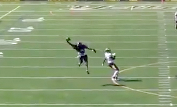 AIC Defensive Back's Interception Receives National Attention