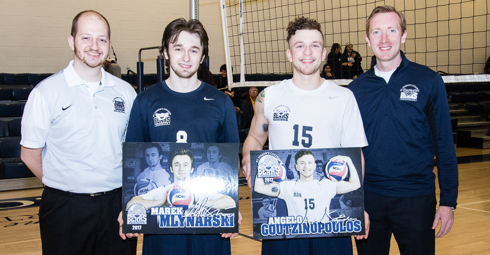 Men's Volleyball Plays Hard-Fought Match Against NJCU on Senior Night