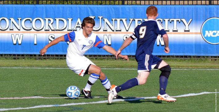 Men's Soccer shut out by Wisconsin Lutheran in NACC road contest