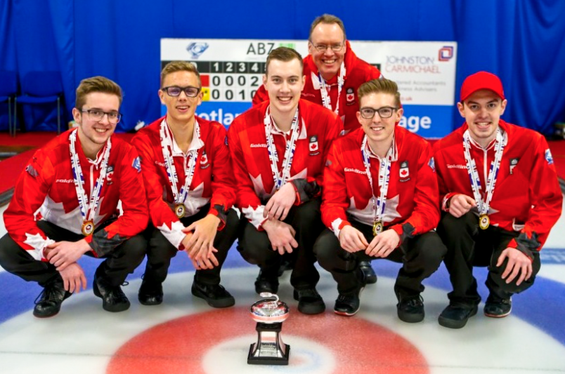 Sterling Middleton reflects on world junior curling championship win