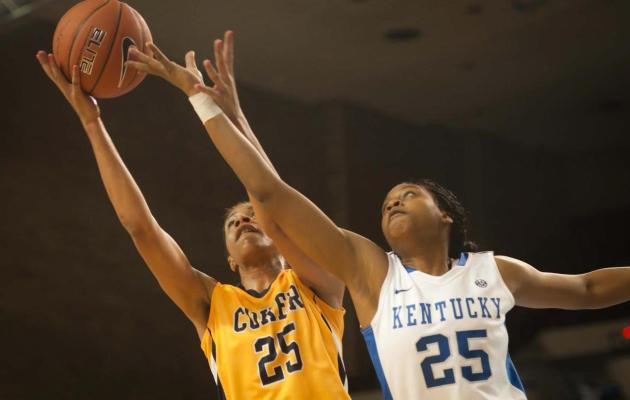 Kentucky Defeats Coker 86-44