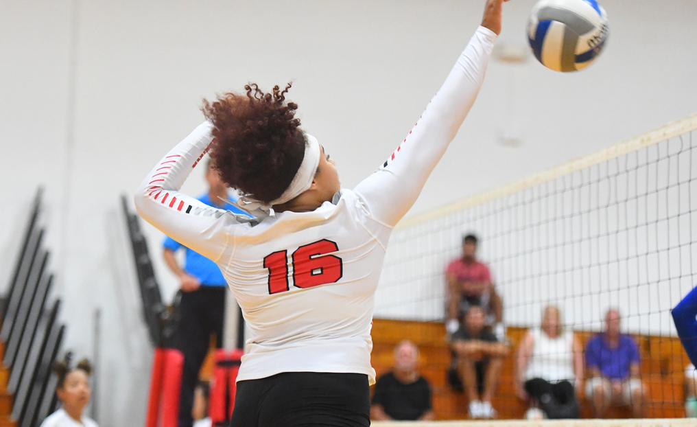 Volleyball Drops Pair at USJ