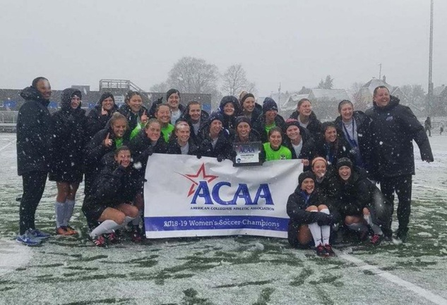 Thomas More Wins ACAA Championship on PK's over Alfred State