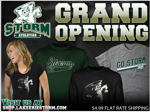 Lake Erie Athletics Launches New Online Store