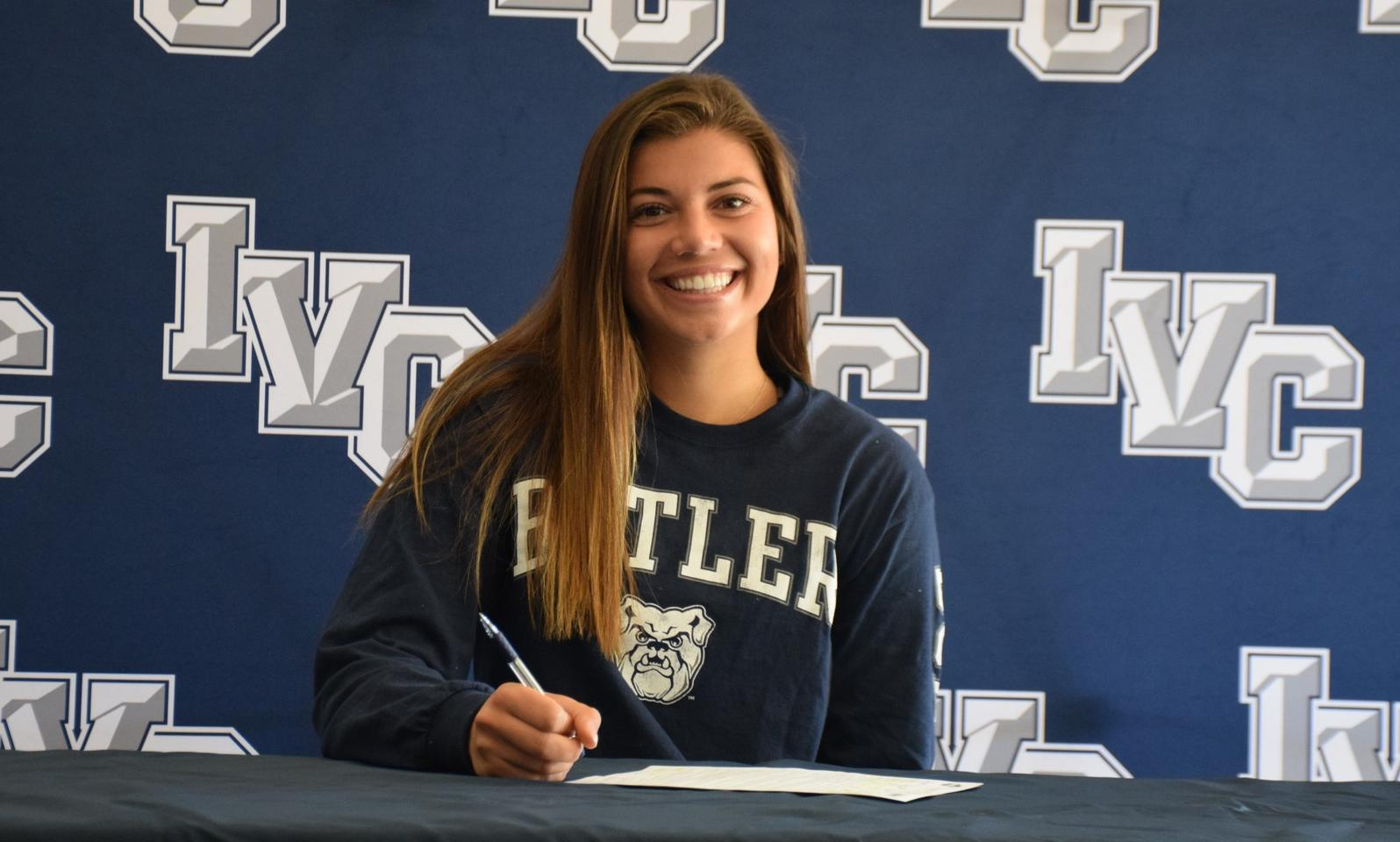 Women's volleyball player Megan Ramseyer headed to Butler