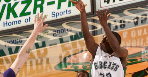 Holmes' 30 Helps Bobcats Beat Belmont Abbey in 98-91 Shootout