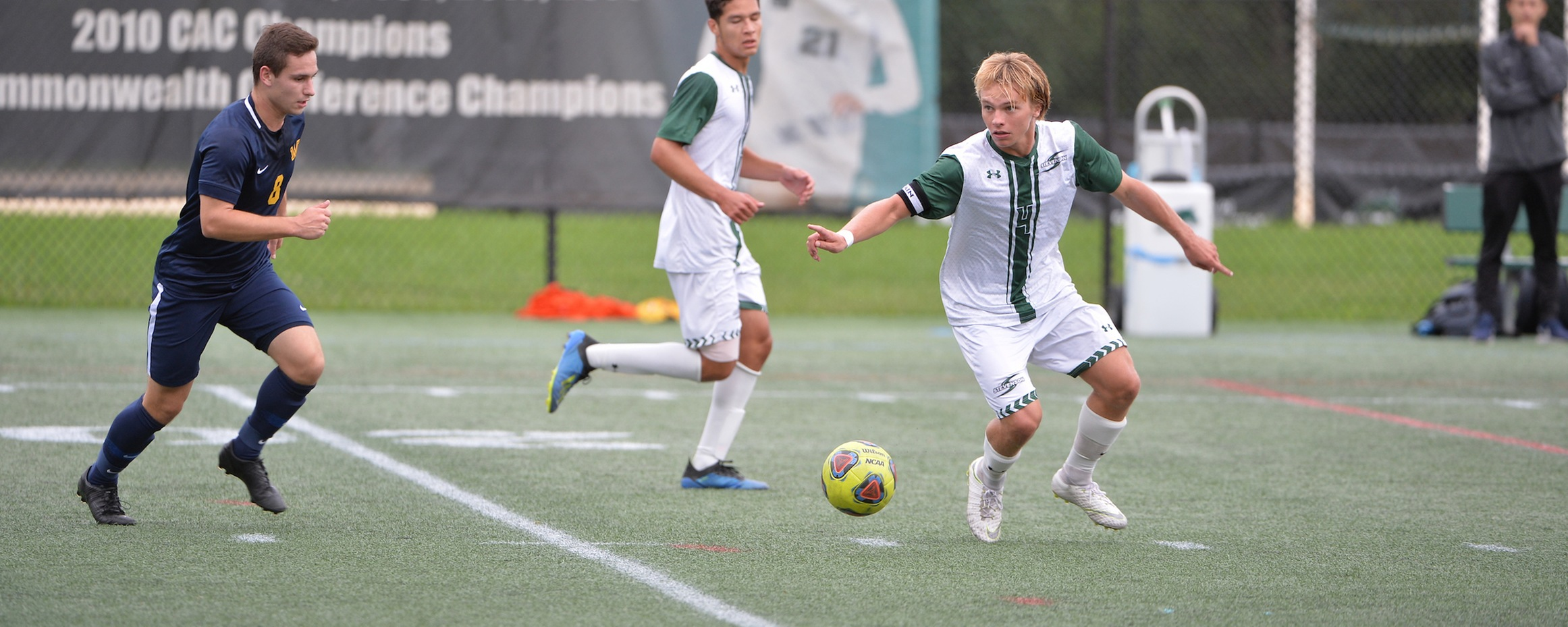 Mustangs Fall in Double Overtime at Haverford, 1-0