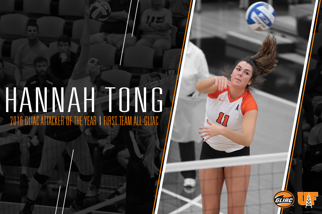 Tong Named GLIAC Attacker of the Year