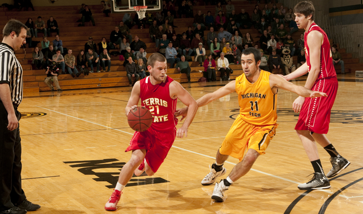 Ferris State Comes Up Just Short In League Road Action Despite Lehman's 37-Point Performance