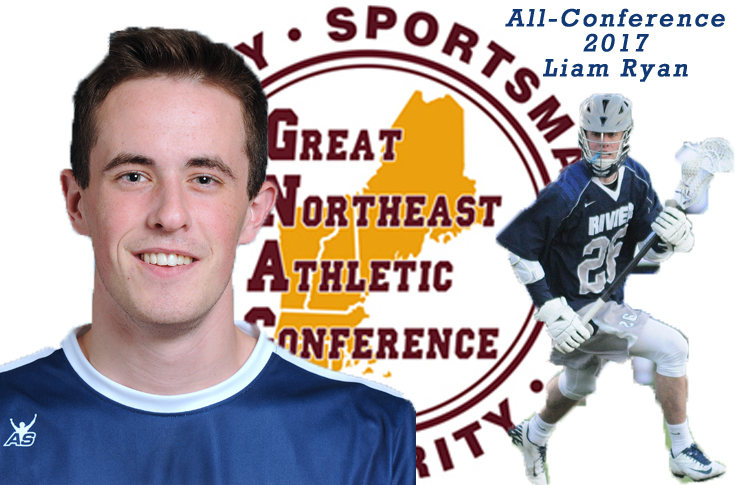 Men's Lacrosse: Liam Ryan selected to GNAC All-Conference Team