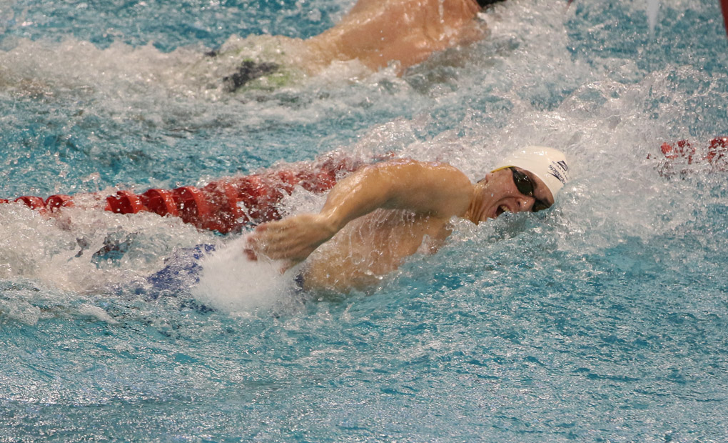 Men's Swimming & Diving Notch Three More Event Wins on Saturday; Finishes Fourth at Miami Invite