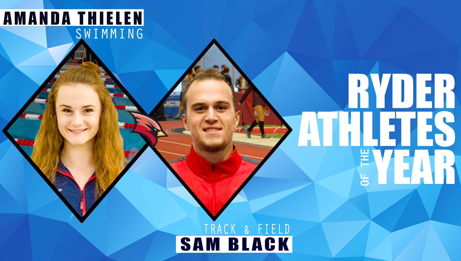 Thielen and Black Named 2016-17 Ryder Athletes of the Year