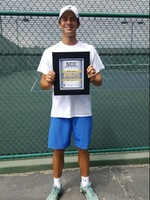 Sasha Krasnov was named the SCC Player of the Year