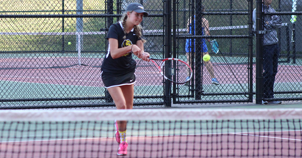 Women's Tennis Defeated by Regis