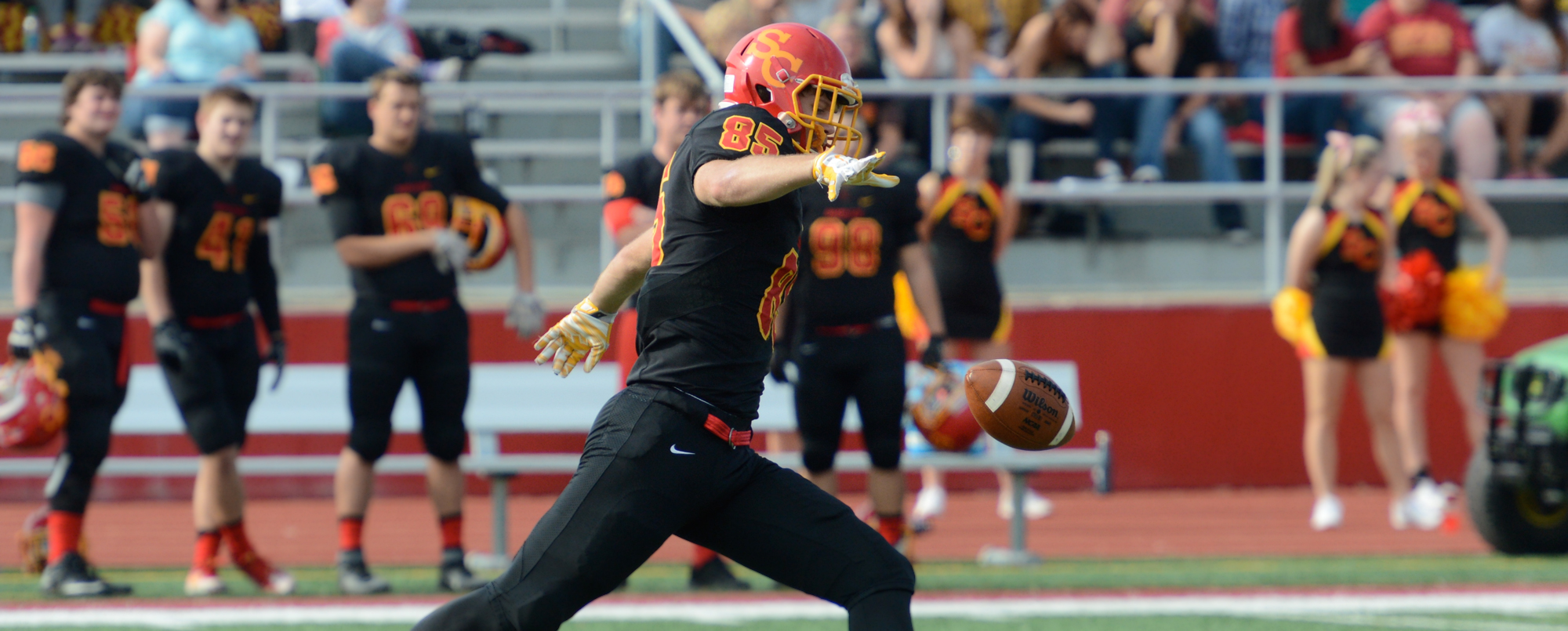 Hawkins named to D3football.com Team of the Week for second week in a row