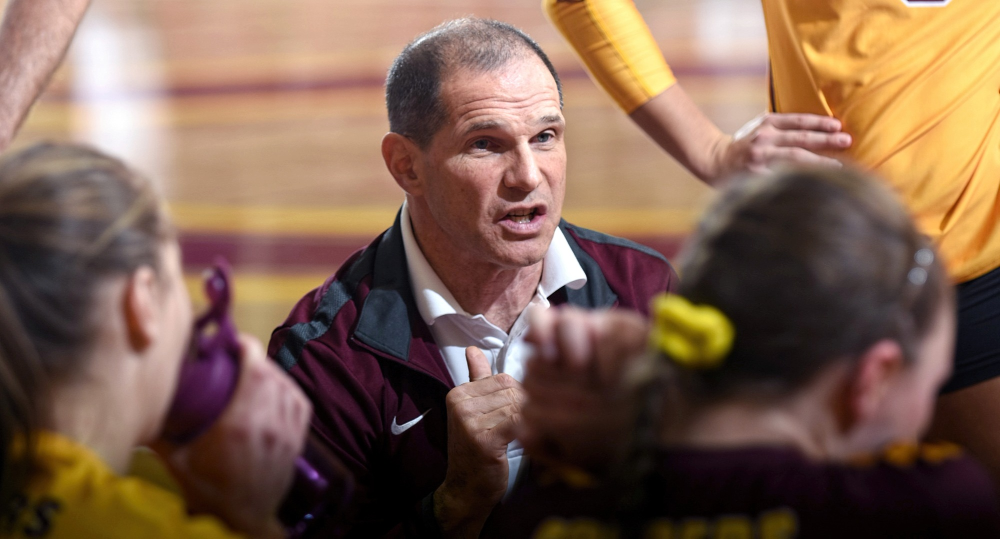 Tim Mosser announced his resignation as head coach of the Cobber volleyball team.