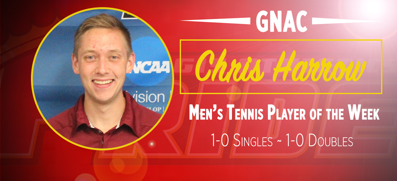 Harrow Named GNAC Player of the Week