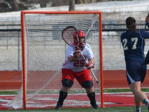 Women's lacrosse team loses to Mount Union, 18-2