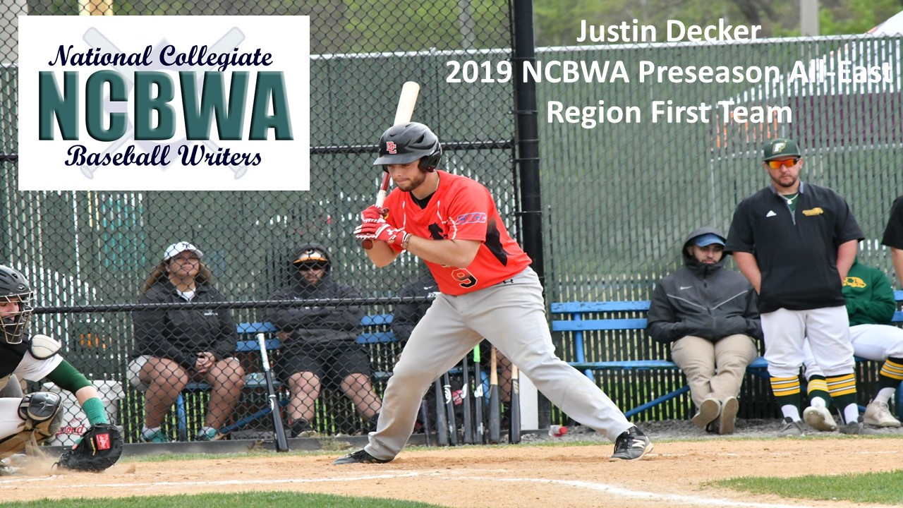 DOMINICAN'S DECKER NAMED PRESEASON ALL-EAST