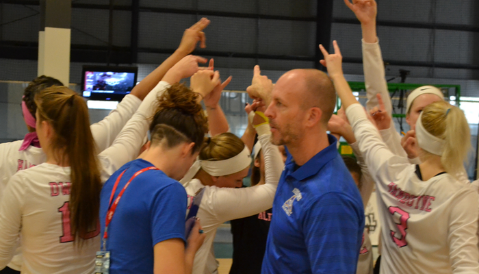 Volleyball Season Ends in USCAA Quarters