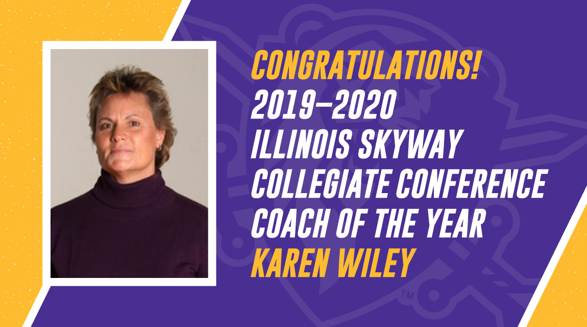 Congratulations ISCC Coach of the Year Karen Wiley