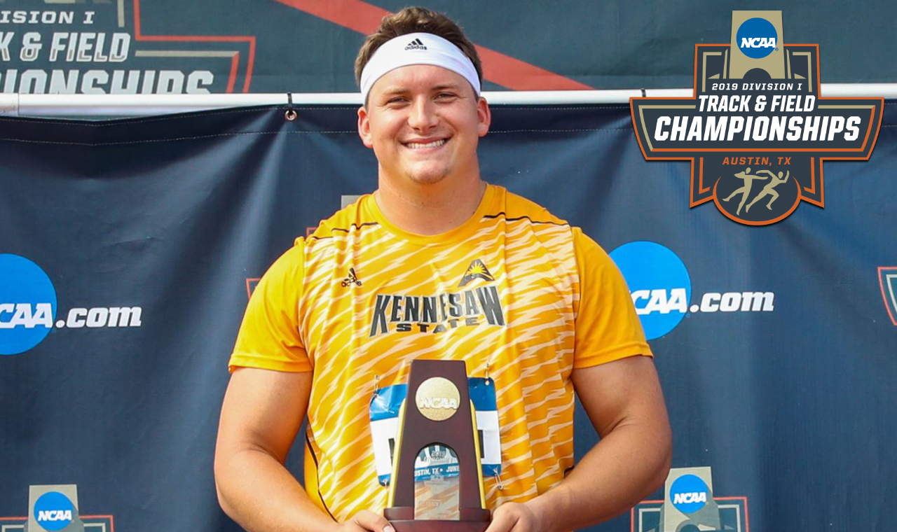 National Champ! KSU's Haugh Earns ASUN's First-Ever NCAA National Crown