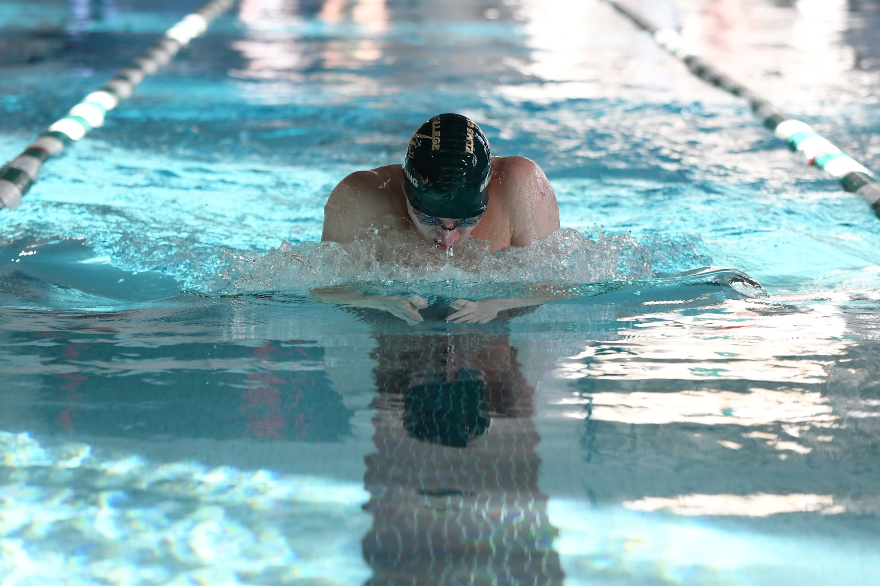Swimming Opens Up Home Schedule with Two Wins