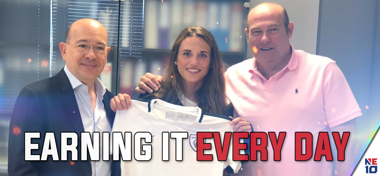 Embrace the Dream: Franklin Pierce's Marta Turmo Inks Pro Deal with Madrid CFF