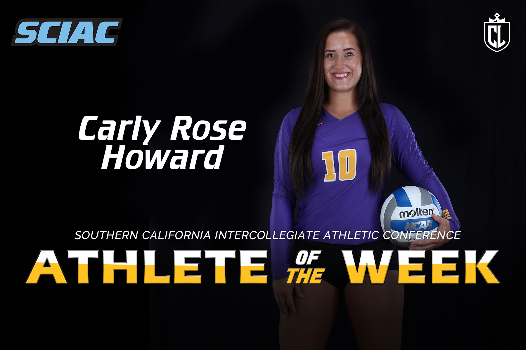 Howard Named Defensive Athlete of the Week
