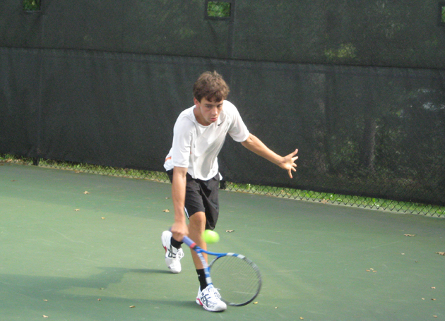 Sipala takes singles title at Brown Inv.