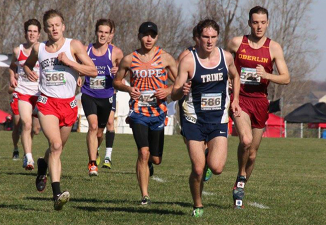 Trine Men Place Fifth at Inter-Regional Rumble
