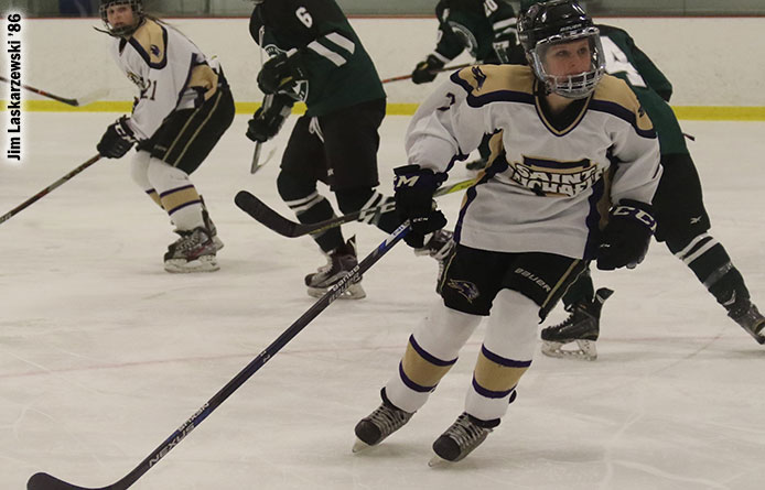 Women's Ice Hockey Registers Victory Over Post Behind Lanci's Three-Point Night