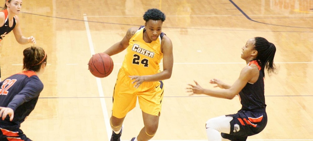 Double-Double Performances Lead Coker Past Mars Hill