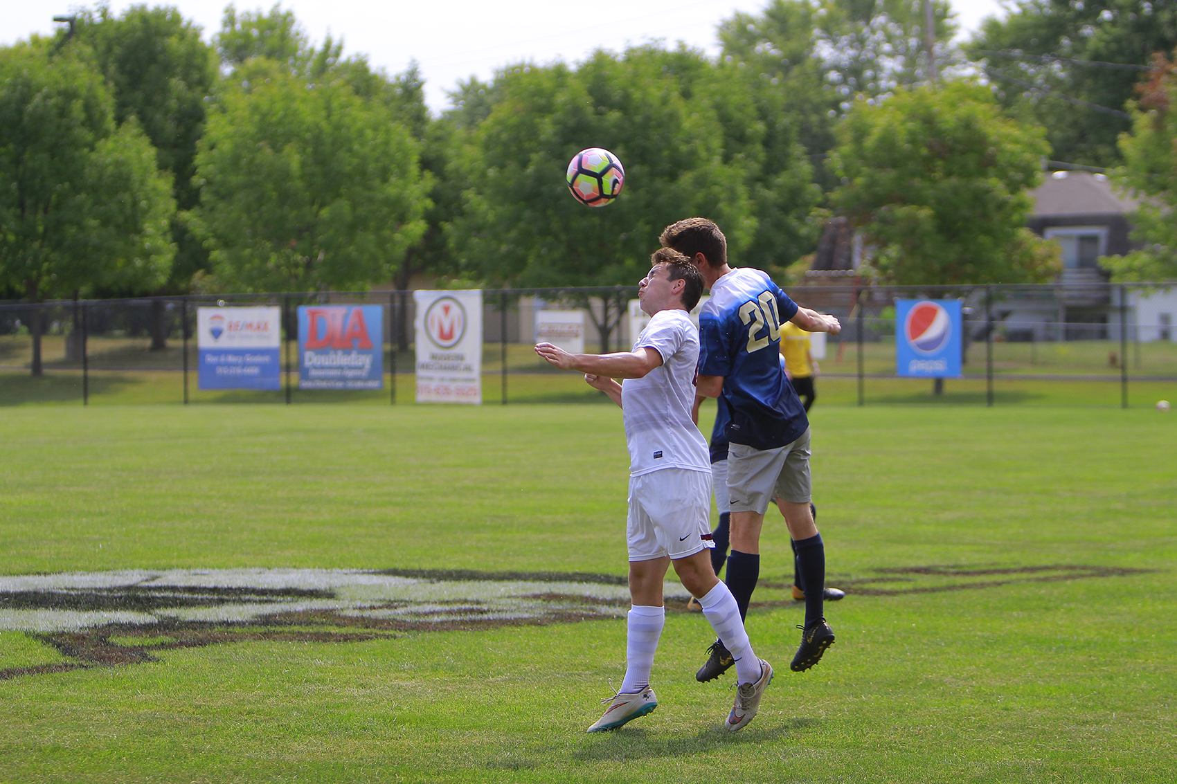 Stupka Scores Hat Trick as Eagles Split Weekend Matches