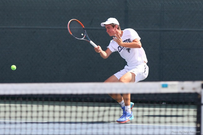 File Photo: Nikita Katsnelson and his doubles partner, Sasha Krasnov, have advanced to the state quarterfinals