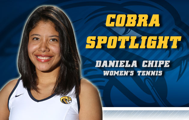 Cobra Spotlight- Daniela Chipe, Women's Tennis
